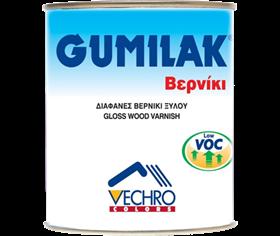 Gumilak διαφανές βερνίκι ξύλου 0,200L