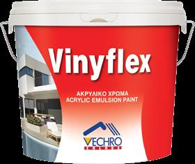Vinylflex ακρυλικό ΛΕΥΚΟ 3L